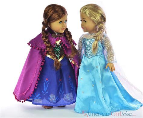 Frozen Dresses for American Girl Dolls • American Girl