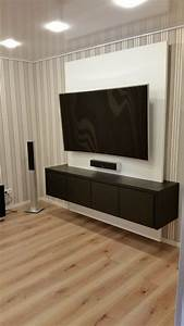 Ideen Tv Wand : die 25 besten ideen zu tv wand auf pinterest schwarze ~ Lizthompson.info Haus und Dekorationen