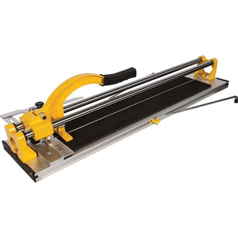 Qep Tile Saw Manual by Qep 24 In Rip Porcelain And Ceramic Tile Cutter 10630q