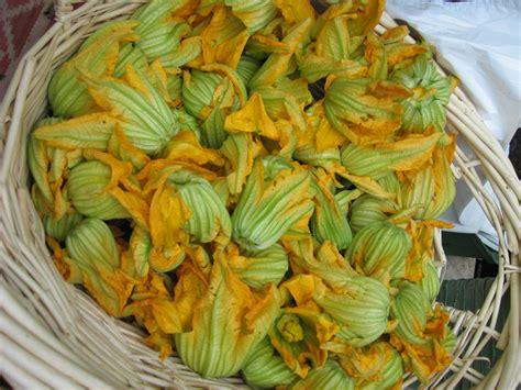 zucchini blossom frittata     farmers