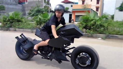 batman batmobile bike designed  vietnam youtube