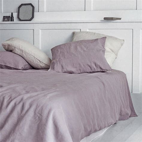 linen duvet cover dusty washed linen duvet cover by rowen wren