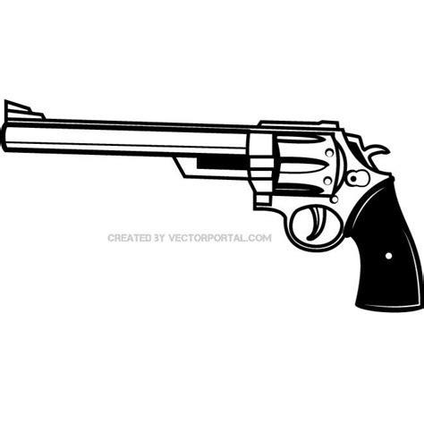 Pistol Clipart Gun Vector Clipart 24