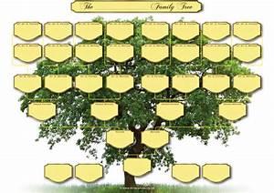 A3 Blank Family Tree Charts