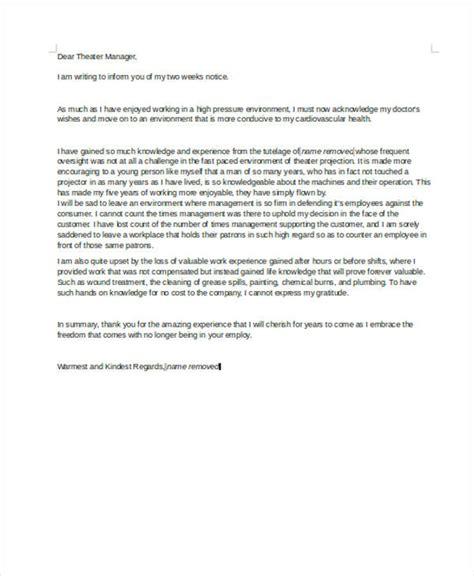 rude resignation letters   sample  format