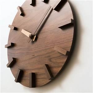 Wanduhr Holz Vintage : wanduhr holz design my blog ~ Indierocktalk.com Haus und Dekorationen