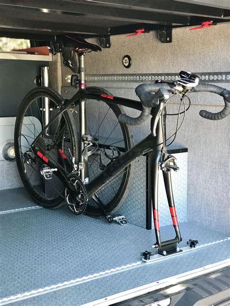 camper van  track fork mount adventure van company
