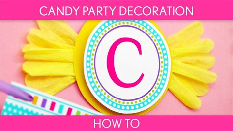 candy party decoration birthday party