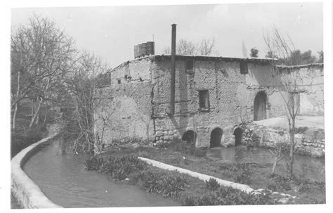 Exterior view of ʿArbin watermill in Rif Dimashq - Syrian ...