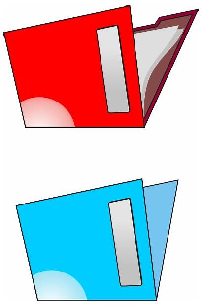 Clip Folders Vector Office Br Oc Supplies