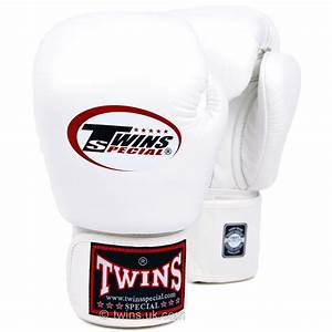 Twins Standard Boxing Gloves White