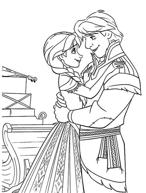prince hans dance  princess anna coloring pages prince hans dance  princess anna