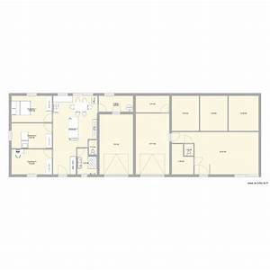 plan de maison mitoyenne maison plain pied a gauche lide With plan maison mitoyenne par le garage