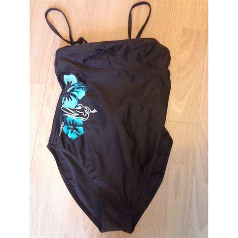 decathlon maillot de bain maillot de bain une pi 232 ce d 201 cathlon 38 m t2 marron