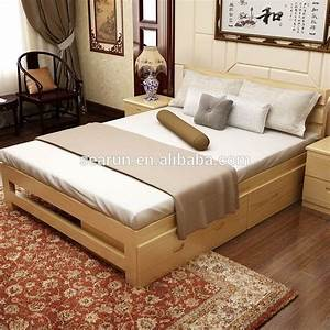 Double Bed Designs In Wood With Box   American HWY