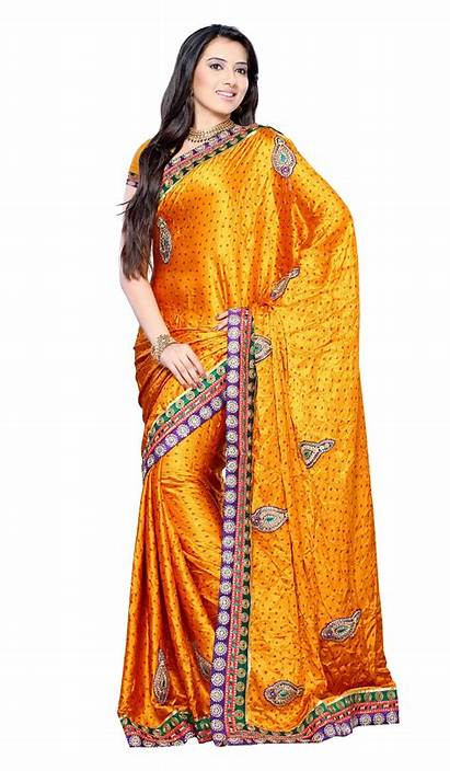 Saree Indian Deviantart Sari Models Transparent Silk