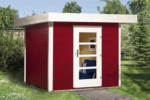 Gartenhaus Holz Klein : gartenhaus flachdach lounge gr e 1 weka typ 172 mit einzelt r holz haus bausatz ebay ~ Orissabook.com Haus und Dekorationen