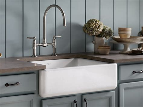 kohler canada whitehaven 174 mount cast iron single bowl kitchen sinks kitchen kitchen