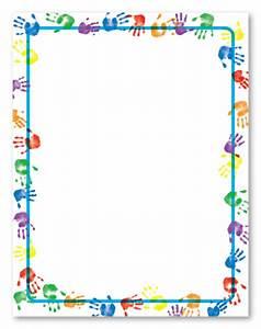 Image Gallery handprint borders