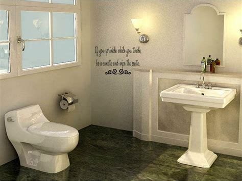 sprinkle bathroom vinyl wall art decal decor words