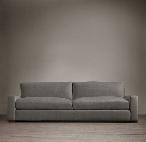 upholstered sofa sofas and restoration hardware on