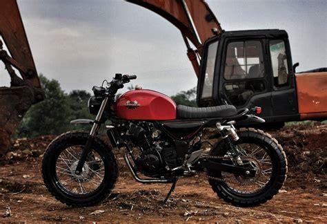 Kawasaki Z250 Scrambler By Studio Motor
