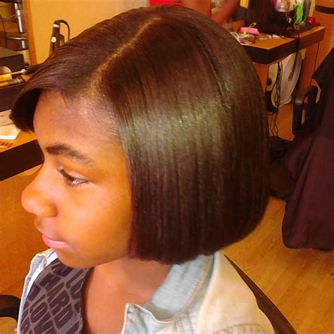 Flat Iron Hairstyles For by Press And Flat Iron American Hair