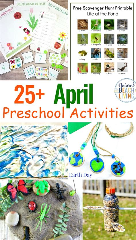14 april preschool themes with lesson plans and 987 | April Preschool Themes with Lesson Plans