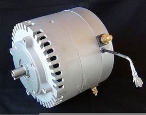 Manta 2 New Dc Electric Motor 12 24 48 Etek    Motenergy Permanent Magnet