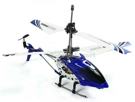 cheerwing  sg ch alloy mini remote control rc helicopter gyro blue