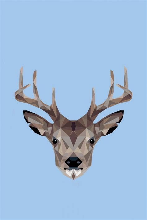 Geometric Animal Wallpaper - 78 best geometric iphone wallpapers images on