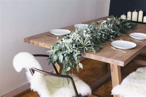 wallpaper in kitchen cabinets make your own scented eucalyptus table garland 6975