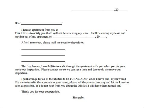 sample termination letter   documents