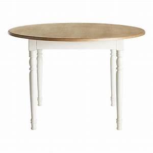 Table A Manger 4 Personne : table manger ronde 4 personnes cr me d120 l ontine ~ Teatrodelosmanantiales.com Idées de Décoration