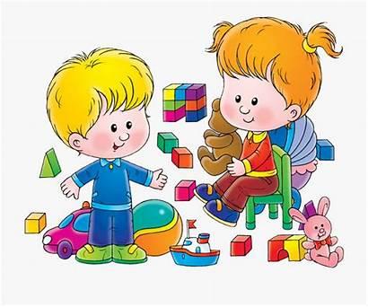Clipart Children Play Clip Toy Child Friends