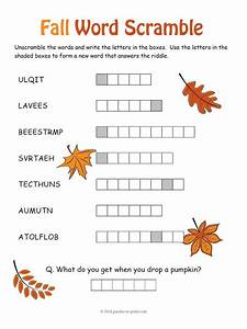 54 best Word Scrambles images on Pinterest   Puzzles, At ...