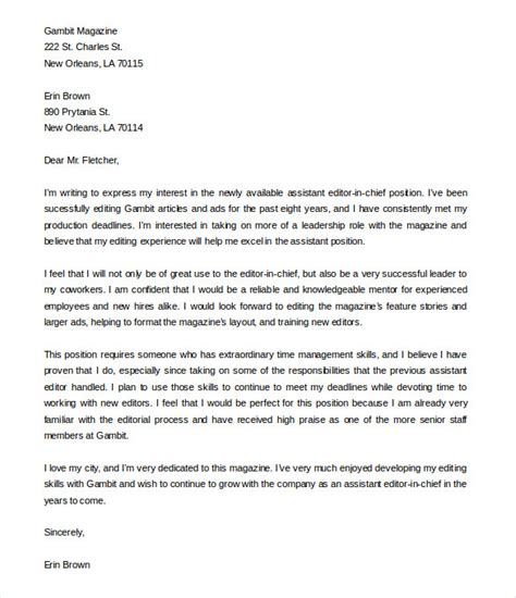Letter Of Interest Sle Template by Exle Of Letter To Promote Business Cover Letter Templates