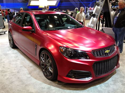 The New Chevy Ss Built In Australia From Car Manufacture