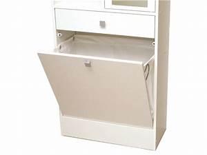 Bac à Linge : colonne salle de bain bac linge wave coloris blanc vente de armoire colonne tag re ~ Teatrodelosmanantiales.com Idées de Décoration