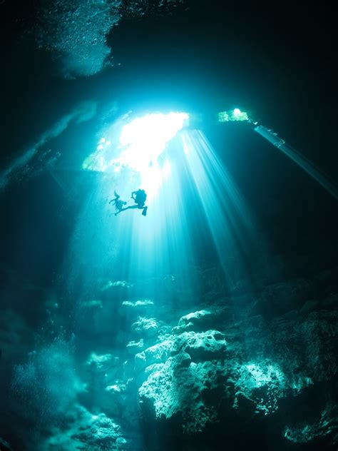 underwater caves wallpapers high quality