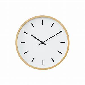 Buy Mimalist Wall Clock with Beech Wood Frames at 20% off