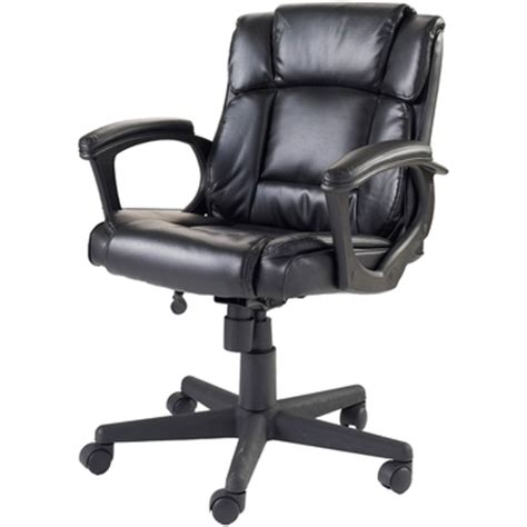 true innovations black soft managers chair office chairs