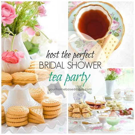 tea bridal shower decorations host the tea bridal shower your homebased