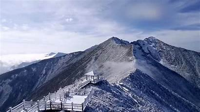Mountains Qinling Highest Breathtaking Rime Covers Cgtn