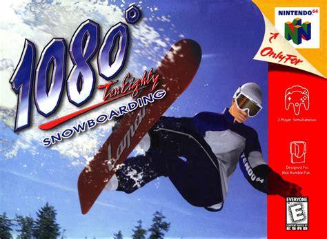 1080 Snowboarding Nintendo 64 Game
