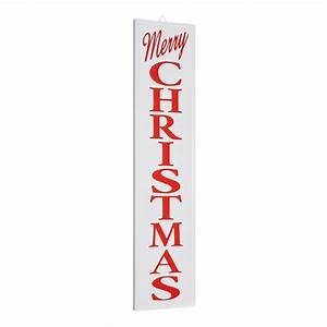 Holiday, Time, Merry, Christmas, Hanging, Porch, Sign, Decoration, 7, U0026quot, X, 31, U0026quot