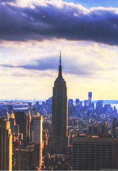 Empire Building State York Nowy Jork Nyc