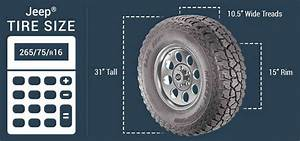 Metric To Standard Size Chart Jeep Tires Tire Covers Quadratec Free Shipping