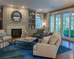 Tapis Salon Bleu Canard : le tapis patchwork une d coration facile pour l 39 int rieur ~ Melissatoandfro.com Idées de Décoration