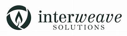 Interweave Solutions Horizontal Downloads Eps Vector Dark